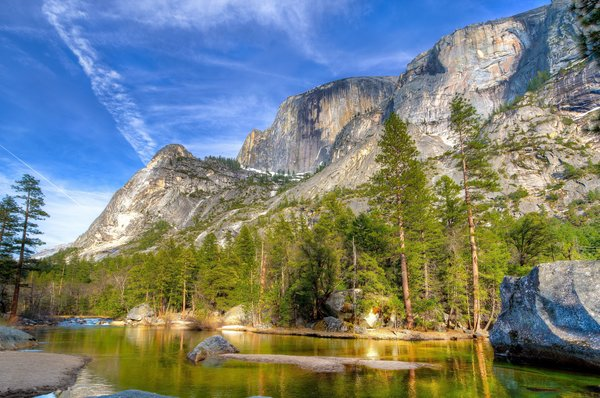 Обои yosemite national park, mountains of california, sierra nevada