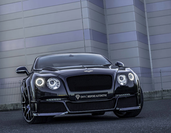 Обои тюнинг, coupe, supercar, tuning, gtvx, black, бентли, onyx, bentley, concept, continental