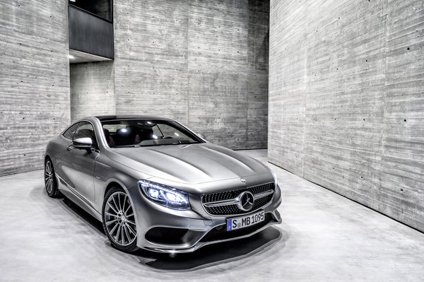 Обои mercedes-benz, 2015, s-class, coupe