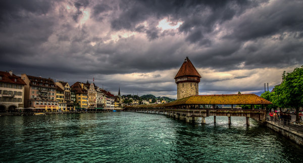 Обои Luzern, Switzerland, город