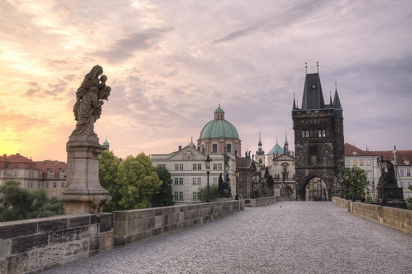 Обои Charles Bridge, Prague, Карлов мост, Прага