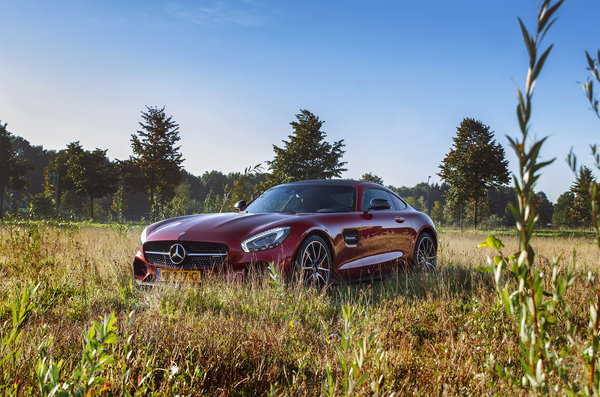 Обои Mercedes, AMG, GT S, Edition One, car, nature