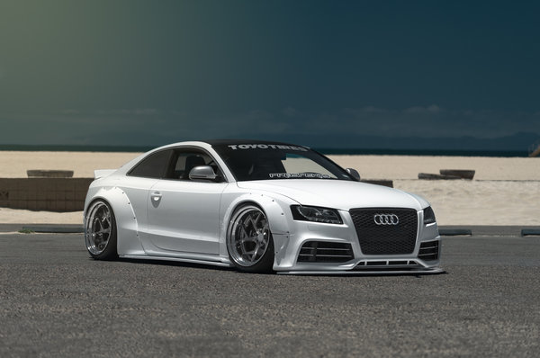 Обои audi S5, tuning, car, Liberty Walk, stance, low