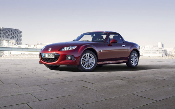 Обои MAZDA, MX-5, coupe