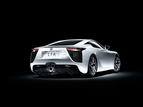 Обои Lexus, Sports car, LFA, White