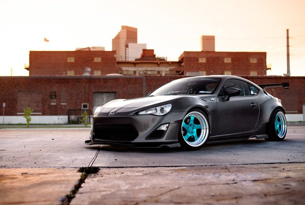 Обои FR-S, factory, front, Scion