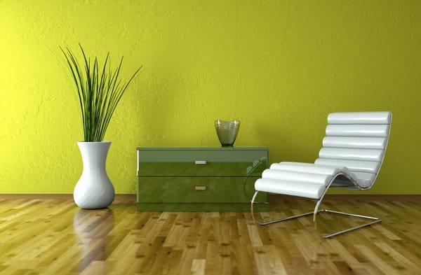 Interior wall design materials