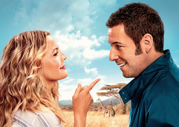 Обои Drew Barrymore, Blended, Смешанные, Adam Sandler