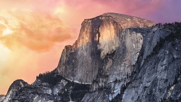 Обои Yosemite, apple, mac