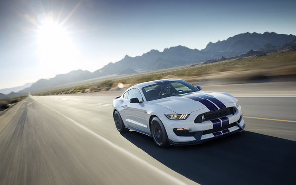 Обои Mustang, Shelby, 2016, GT350, Ford