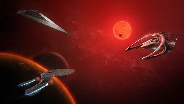 Обои Star, Trek, USS Enterprise NCC-1701-D, Wars, Star, Andromeda, Enterprise-D