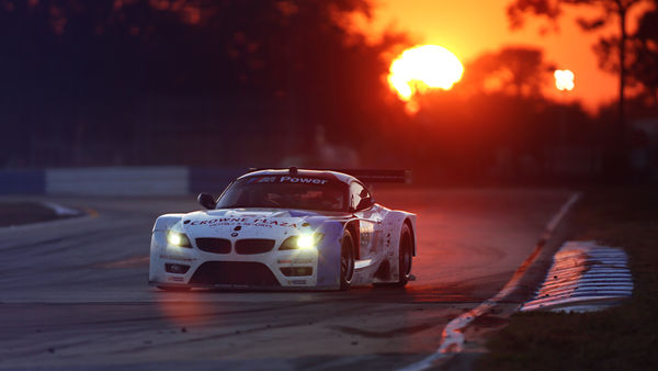 Обои BMW, Headlight, Sunset, Z4, Performance, Spoiler, Competition, Le Mans, 24 Hours Race, Track, Widebody Kit, GTE, Race, Sponsors, Team, Glow, White