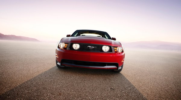 Обои 2010, GT, Mustang, Ford