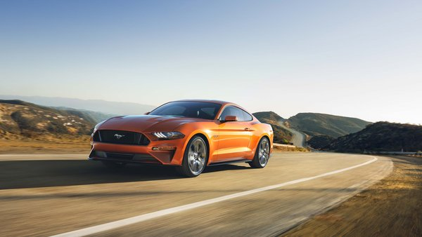 Обои Ford Mustang GT, Car