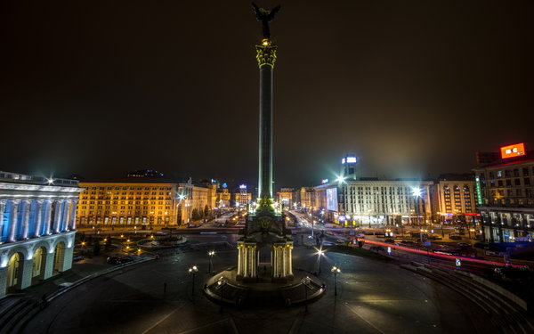 Обои Kiev, Independence Square, Ukraine, Майдан