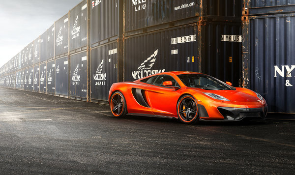 Обои McLaren MP4-VX, Vorsteiner, tuning, frontside, MP4-12c, car