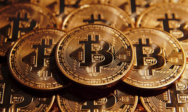 Обои Crypto-currency, Bitcoin, Coin, Gold