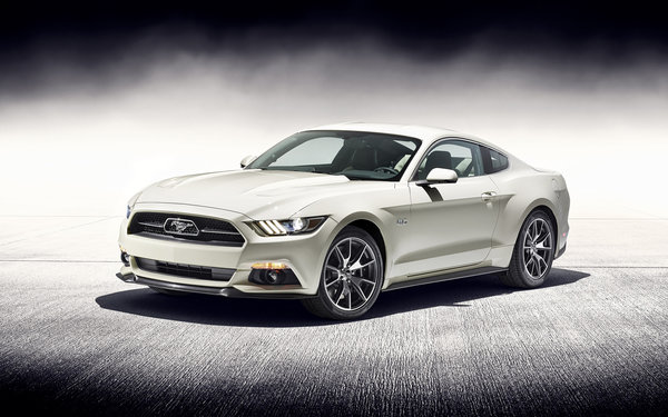 Обои 2015, Mustang, 50 Year Limited Edition, Ford