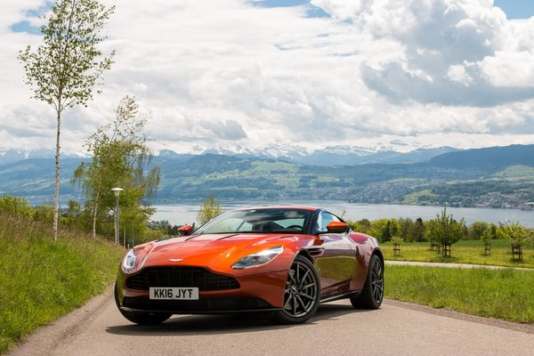 Обои DB11, ASTON MARTIN, ORANGE