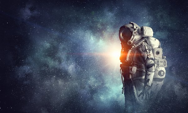 Обои suit, space, man, astronaut