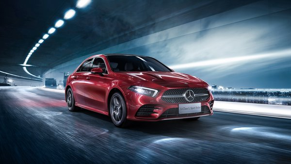 Обои 2019, Mercedes-Benz, A-Class, A200, Sedan, L Sport