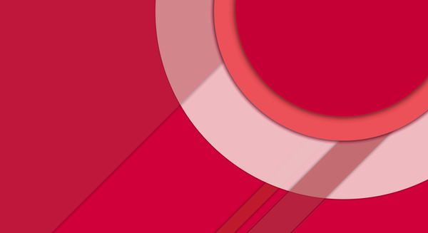 Обои Android 5.0, Circles, Red, Material, Design, Line, Fon, Lollipop