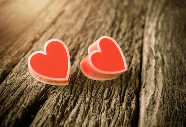 Обои vintage, wood, romantic, heart, love, сердце