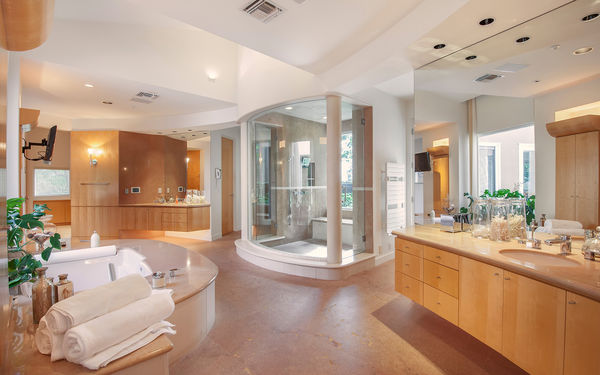 Обои bathroom, home, interior, luxury
