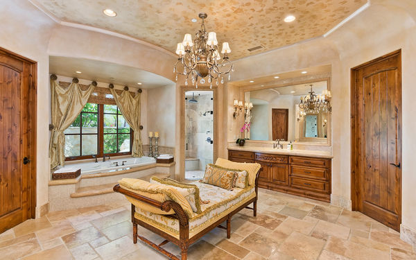 Обои bathroom, luxury, santa fe, interior, home