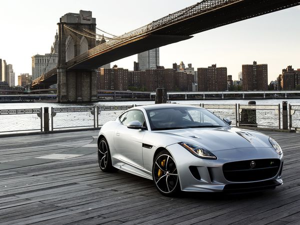 Обои 2015, US-spec, F-Type R, Jaguar, AWD, ягуар