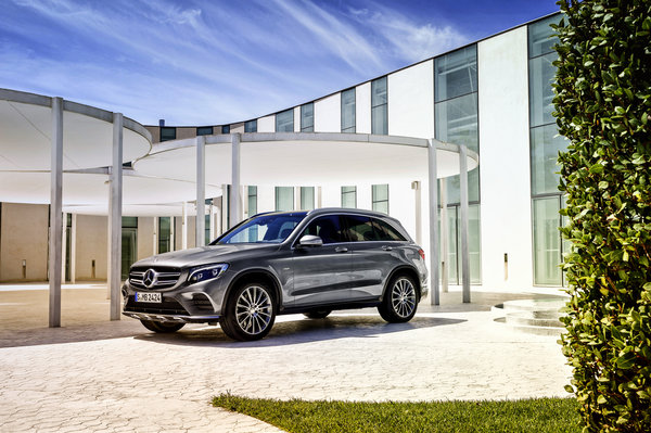 Обои 2015, Mercedes-Benz, X205, 4MATIC, мерседес, GLC 350