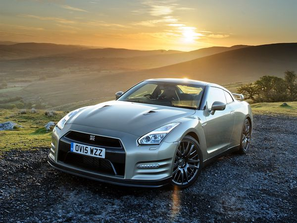 Обои 2015, Nissan, ниссан, GT-R, 45th Anniversary, UK-spec, R35