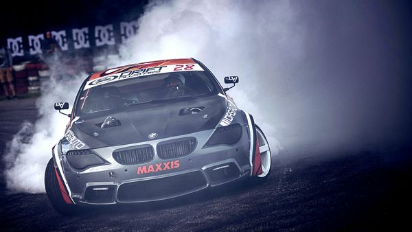 Обои BMW, Coupe E63, drift, 6 Series