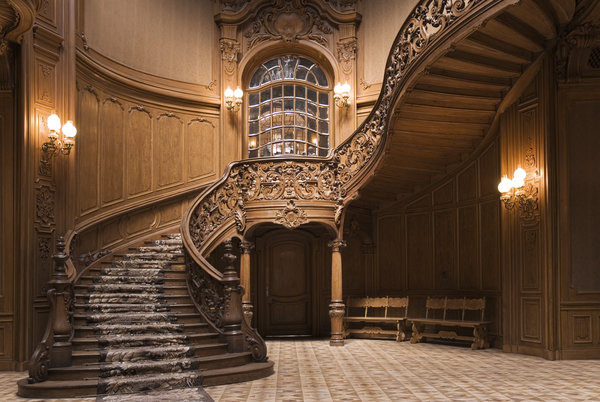 Обои staircase, wood, decoration, design