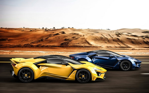 Обои W-Motors, race, Fenyr, SuperSport, supercar