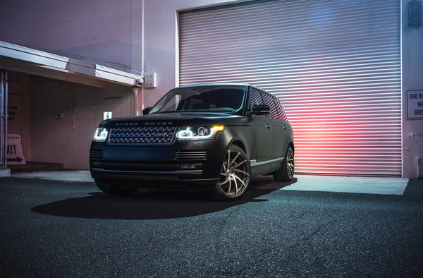 Обои Land Rover, Collection, Aristo, Front, Sport, Range Rover