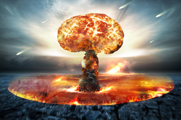 Обои nuclear bomb, nuclear attack, energy, explosion, destruction
