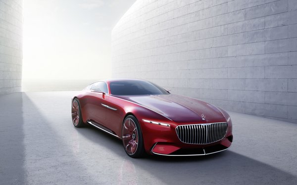 Обои Мерседес-Бенц, Vision Mercedes-Maybach 6, концепт, Майбах