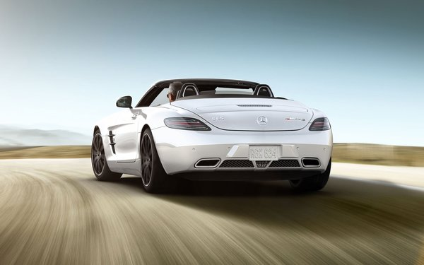 Обои Мерседес СЛС, 2014, Mercedes-Benz SLS Roadster, родстер