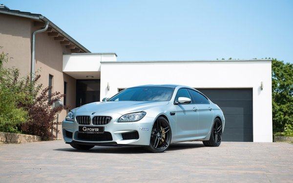 Обои БМВ М6, 2015, G-Power, BMW M6, Gran Coupe, тюнинг