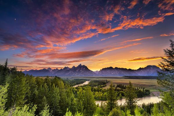 Обои snake river, usa, гранд-титон, wyoming, grand teton national park