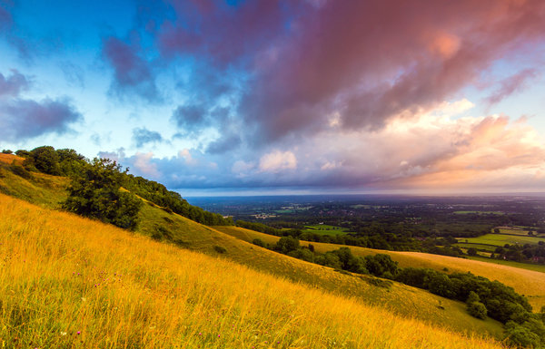 Обои england, great britain, англия, саут даунс, south downs, plumpton