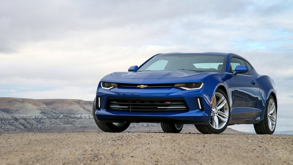 Обои мускул кар, шевроле камаро, RS, Chevrolet Camaro, 2016