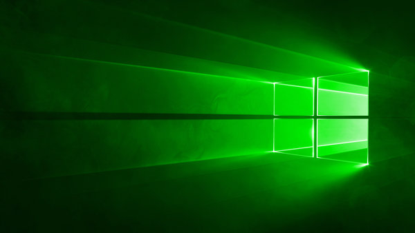 Обои green, windows, windows10