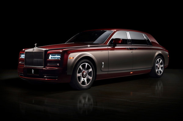 Обои Rolls-Royce, Phantom, Pinnacle Travel, лимузин