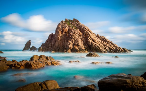 Обои Австралия, скалы, океан, природа, Sugarloaf Rock