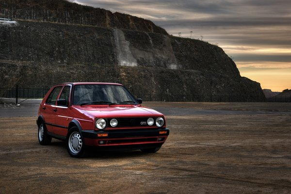 Обои volkswagen golf, авто, classic, cars, Auto, auto, retro, gti, vw
