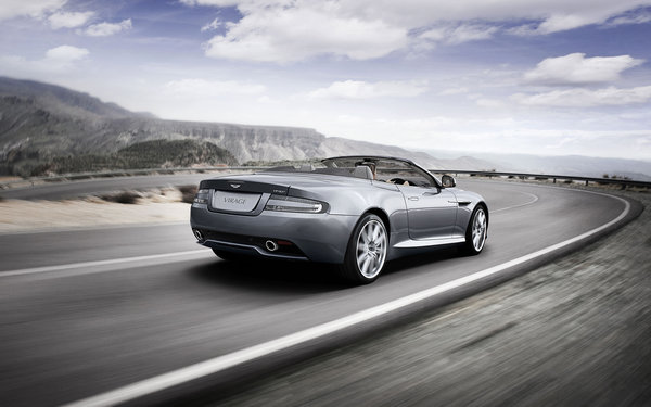 Обои Дизайн автомобиля Aston Martin virage